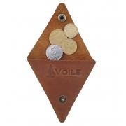 Монетница ручной работы VOILE vl-cn1-lbrn
