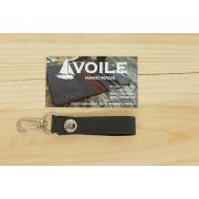 Брелок подвеска на ремень для ключей ручной работы VOILE vl-kch2-blk
