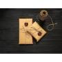Зажим для купюр ручной работы VOILE vl-mc6-brn коричневый