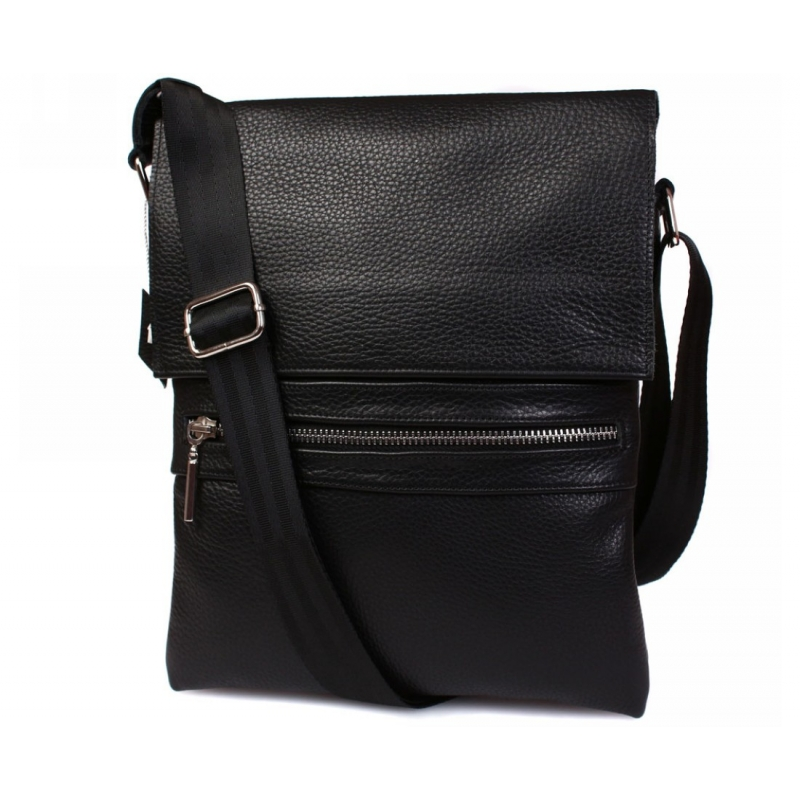 012813972727 Стильная мужская кожаная сумка для повседневного использования с плечевым  ремнем купить